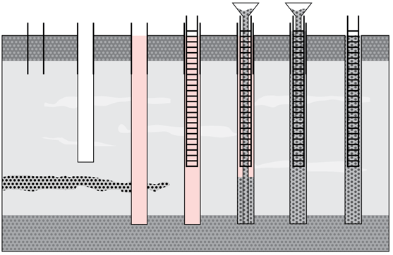 Pile Foundation Design : Bored piling method statement planning engineer est