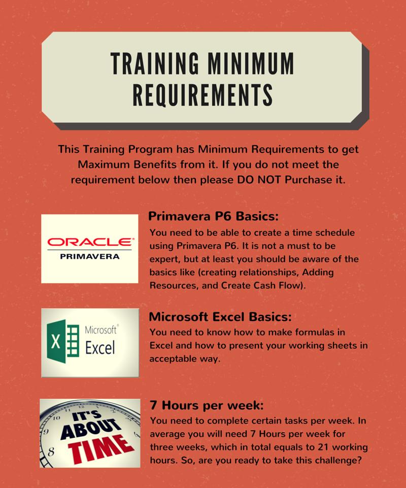 TRAINING Minimum Requirements (1)