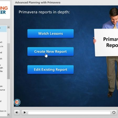 Advanced Planning With Primavera Course-Downloadable