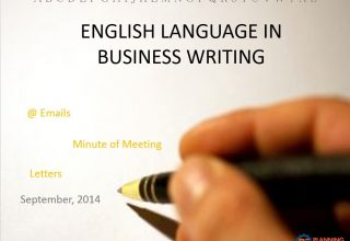 English Language in Business Writing- Downloadable Course