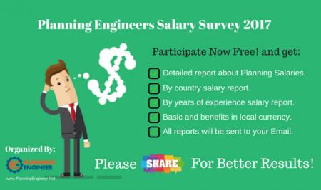 Planning Engineer Salary Survey 2017