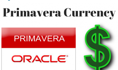 Primavera Currency – How to Add New Currency or Change Project Currency