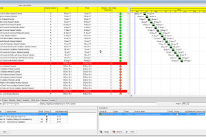 Using flag and indicators in oracle primavera to show progress