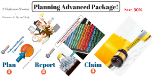 Planning Advanced Package- 3 Professional Courses and Primavera 50 Tips